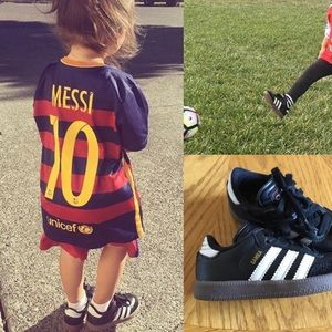 FCB childs Messi Jersey